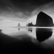 Morning Sea Stacks- Cannon Beach