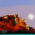 Moon Over Masada
