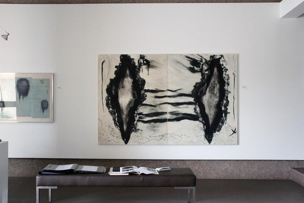A feeler installation 9
